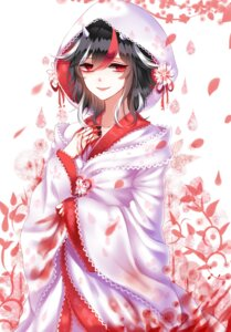 Rating: Safe Score: 23 Tags: blood horns kijin_seija kimono sheya touhou User: Mr_GT