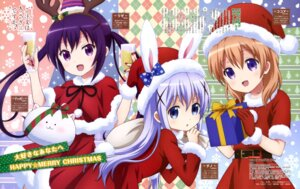 Rating: Safe Score: 57 Tags: christmas dress gochuumon_wa_usagi_desu_ka? horns hoto_cocoa kafuu_chino sugimoto_sachiko tedeza_rize tippy_(gochuumon_wa_usagi_desu_ka?) User: drop