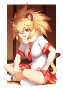 Rating: Safe Score: 28 Tags: animal_ears kemono_friends lion_(kemono_friends) moku tail thighhighs User: Mr_GT