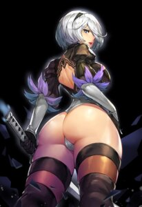 Rating: Questionable Score: 67 Tags: ass cameltoe gurimjang leotard nier_automata sword thighhighs yorha_no.2_type_b User: Spidey