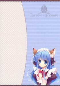 Rating: Safe Score: 12 Tags: animal_ears indico_lite maid mitha nekomimi User: fireattack