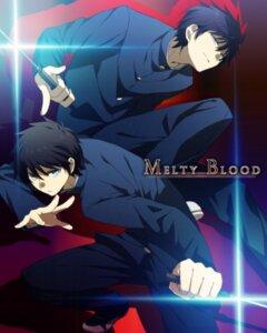 Rating: Safe Score: 10 Tags: abaraya male melty_blood nanaya_shiki seifuku toono_shiki tsukihime User: charunetra