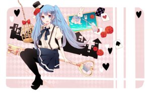 Rating: Safe Score: 16 Tags: hatsune_miku komine pantyhose vocaloid User: fairyren