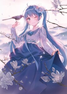 Rating: Safe Score: 31 Tags: asian_clothes harusame_(user_wawj5773) hatsune_miku skirt_lift vocaloid User: Mr_GT