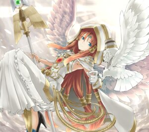 Rating: Safe Score: 33 Tags: dress heels rr_(rr2) weapon wings yugioh User: Mr_GT