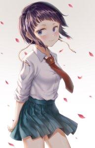 Rating: Safe Score: 15 Tags: boku_no_hero_academia jirou_kyouka seifuku skirt_lift syatihoko User: yanis