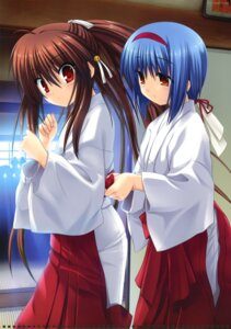 Rating: Safe Score: 23 Tags: key little_busters! miko na-ga natsume_rin nishizono_mio User: crim