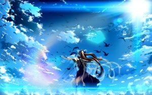 Rating: Safe Score: 22 Tags: air kamio_misuzu wallpaper User: angcz