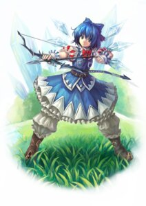 Rating: Safe Score: 11 Tags: cirno oto_taku touhou User: itsu-chan