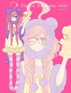 Rating: Safe Score: 9 Tags: megane miki_(vocaloid) thighhighs vocaloid wogura User: Nekotsúh