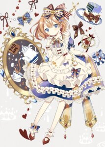 Rating: Safe Score: 17 Tags: alice alice_in_wonderland dress macomick skirt_lift User: charunetra