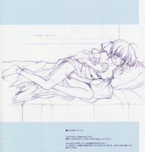 Rating: Explicit Score: 14 Tags: breast_grab breasts ef_~a_fairytale_of_the_two~ kimono masturbation miyamura_miyako monochrome nanao_naru nipples nopan sketch User: admin2