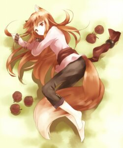 Rating: Safe Score: 35 Tags: animal_ears holo kaiso2011 spice_and_wolf tail User: sxxiaoou