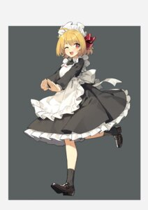 Rating: Safe Score: 13 Tags: heels maid rumia sh touhou User: Mr_GT