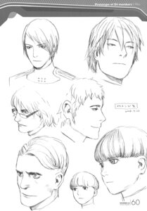 Rating: Safe Score: 5 Tags: character_design male monochrome range_murata shangri-la sketch User: Share