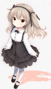 Rating: Safe Score: 37 Tags: girls_und_panzer gothic_lolita lolita_fashion pantyhose shimada_arisu shizukawashi_sumi User: BattlequeenYume