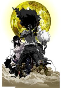 Rating: Safe Score: 2 Tags: afro_samurai cleavage okazaki_takashi User: nanashioni