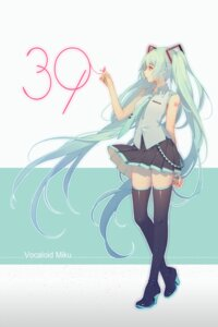Rating: Safe Score: 42 Tags: hatsune_miku heels tattoo thighhighs tid vocaloid User: Mr_GT