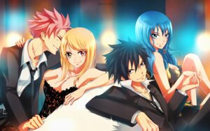 Rating: Safe Score: 25 Tags: cleavage fairy_tail gray_fullbuster juvia_loxar kristallin-f lucy_heartfilia natsu_dragneel see_through signed User: charunetra
