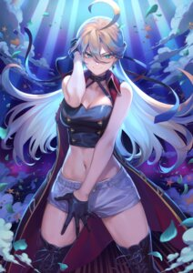 Rating: Safe Score: 35 Tags: breast_hold cleavage kamina_kohane mashu_(003) palette_project thighhighs User: Mr_GT