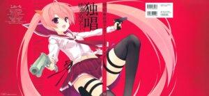 Rating: Safe Score: 40 Tags: gun hidan_no_aria kanzaki_h_aria kobuichi seifuku thighhighs User: Twinsenzw