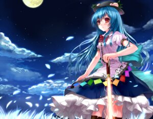 Rating: Safe Score: 39 Tags: hinanawi_tenshi momoko_(momopoco) sword touhou User: fairyren