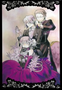 Rating: Safe Score: 9 Tags: dress megane mochizuki_jun pandora_hearts reim_lunettes sharon_rainsworth xerxes_break User: hirotn