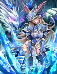 Rating: Safe Score: 39 Tags: armor monster nopan puzzle_&_dragons sho_(shoichi-kokubun) thighhighs User: Mr_GT
