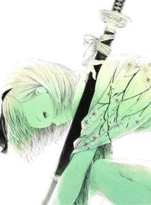 Rating: Safe Score: 20 Tags: konpaku_youmu sawasawa sword touhou User: Nekotsúh