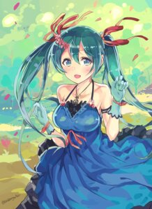 Rating: Safe Score: 66 Tags: dress hatsune_miku suiden_getsu vocaloid User: blooregardo