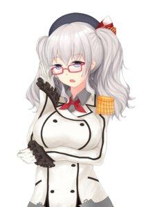 Rating: Safe Score: 23 Tags: breast_hold kantai_collection kashima_(kancolle) megane rumaki uniform User: cgcat