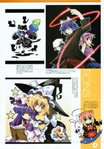 Rating: Safe Score: 5 Tags: ishiki kirisame_marisa patchouli_knowledge touhou User: midzki