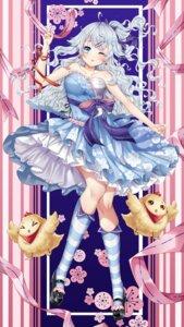 Rating: Questionable Score: 32 Tags: heels linlinshiyujiang lolita_fashion sarashi skirt_lift wa_lolita User: sym455