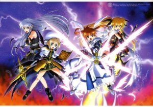Rating: Safe Score: 22 Tags: fate_testarossa mahou_shoujo_lyrical_nanoha mahou_shoujo_lyrical_nanoha_a's mahou_shoujo_lyrical_nanoha_the_movie_2nd_a's reinforce takamachi_nanoha yagami_hayate User: drop