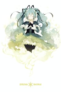 Rating: Safe Score: 45 Tags: hatsune_miku shuzi vocaloid yuki_miku User: tbchyu001