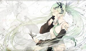 Rating: Safe Score: 35 Tags: hatsune_miku headphones marumoru vocaloid User: charunetra