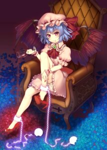 Rating: Safe Score: 36 Tags: bloomers heels raiou remilia_scarlet touhou wings User: fairyren