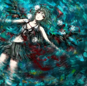 Rating: Safe Score: 13 Tags: blood mututu open_shirt shameimaru_aya touhou User: Mr_GT