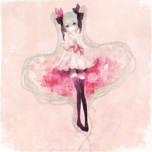 Rating: Safe Score: 12 Tags: hatsune_miku pechika thighhighs vocaloid world_is_mine_(vocaloid) User: charunetra