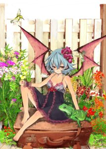 Rating: Safe Score: 18 Tags: lingerie remilia_scarlet shizumi_satou touhou wings User: 23yAyuMe