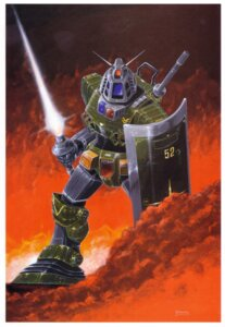 Rating: Safe Score: 4 Tags: gundam mecha okawara_kunio User: Radioactive