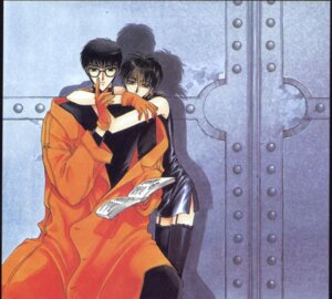 Rating: Safe Score: 3 Tags: clamp sumeragi_subaru x yatouji_satsuki User: Radioactive