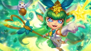 Rating: Safe Score: 7 Tags: animal_ears dress league_of_legends lulu_(league_of_legends) star_guardian_lulu wallpaper weapon wings User: charunetra