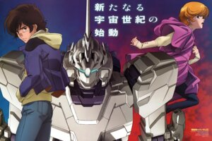 Rating: Safe Score: 6 Tags: audrey_burne banagher_links chiba_yuriko gundam gundam_unicorn mecha nakada_eiji unicorn_gundam User: Aurelia