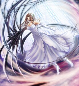 Rating: Safe Score: 21 Tags: black_cyc cleavage dress extravaganza game_cg sakurai_yumemi see_through ueda_metawo wedding_dress User: zedra1