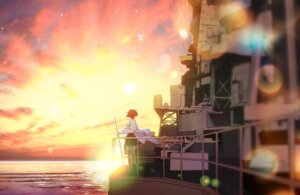 Rating: Safe Score: 20 Tags: hiei_(kancolle) kantai_collection landscape saki_(little_crown) thighhighs User: charunetra