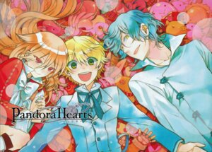 Rating: Safe Score: 5 Tags: alice_(pandora_hearts) gilbert_nightray mochizuki_jun oz_vessalius pandora_hearts screening User: Riven