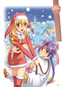 Rating: Safe Score: 8 Tags: christmas chrno_crusade chrono moriyama_daisuke rosette_christopher thighhighs User: fireattack