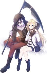Rating: Safe Score: 13 Tags: bandages isaac_foster nyaa_(nnekoron) rachel_gardner satsuriku_no_tenshi weapon User: charunetra