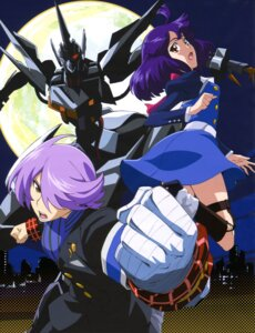 Rating: Safe Score: 15 Tags: bandages concrete_revolutio dress equus hitoyoshi_jirou hoshino_kikko mecha yokoya_kenta User: drop